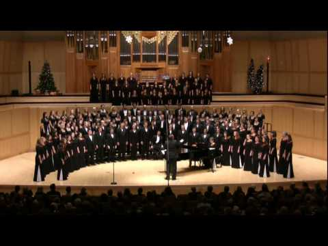 Carol of Joy - University of Utah Combined Choirs