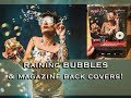 Raining BUBBLES and making the Back Cover of Digital Photo Magazine- Studio shoot-Rotolight Aeos