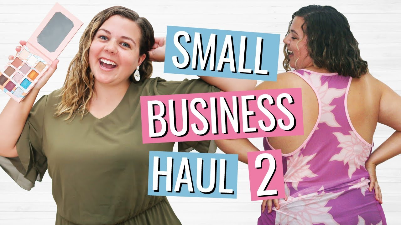 Buying Products From My Follower's Small Businesses 2!