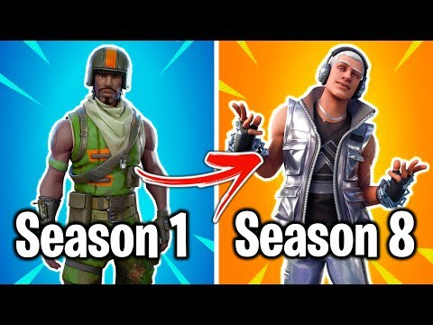 THE WORST FORTNITE SKIN FROM EVERY SEASON! (please Watch 'til The Very End)