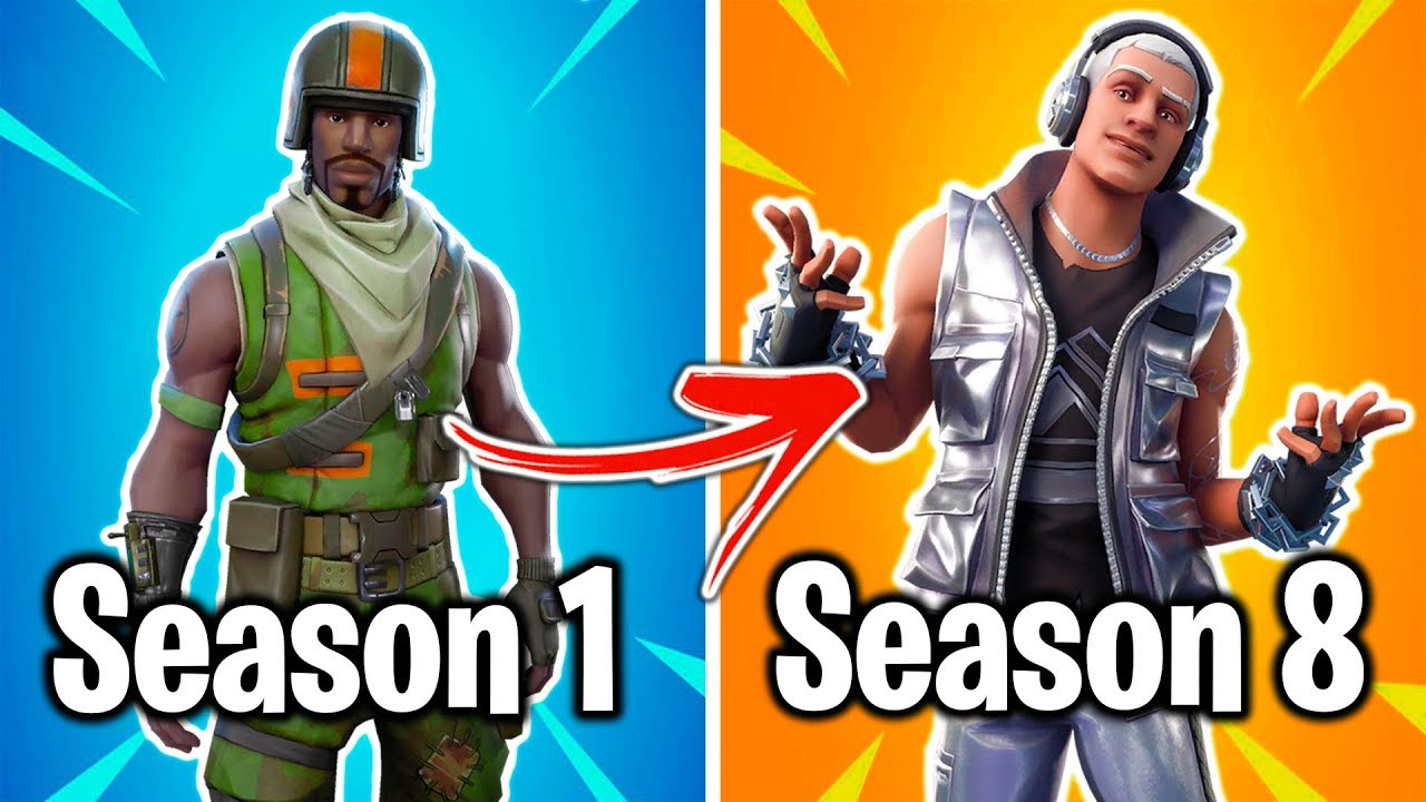THE WORST FORTNITE SKIN FROM EVERY SEASON! (please watch ...