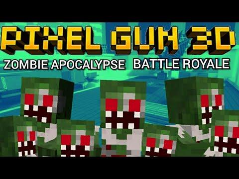PIXEL GUN 3D BATTLE ROYALE ZOMBIE APOCALYPSE