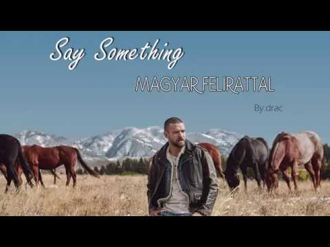 Cover Lagu Justin Timberlake ft. Chris Stapleton - Say Something magyar felirattal STAFABAND