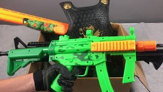 Realistic Toy Guns Box of Toys Military