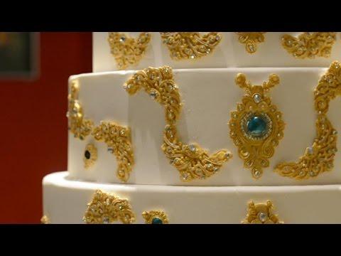 how-to-cake-it:-6-tiers-indian-/-arabic-jewelry-wedding-cake