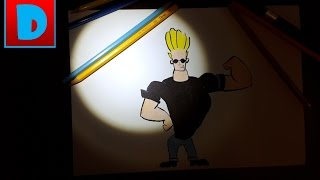 How to draw Johnny Bravo | Draw is Easy