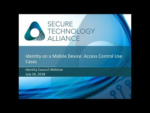 Identity on a Mobile Device: Access Control Use Cases