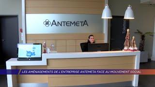 Yvelines | Les aménagements de l'entreprise AntemetA face au mouvement social