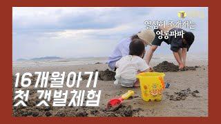 [영롱조합] 브이로그 | 첫갯벌체험(충남 태안) |…