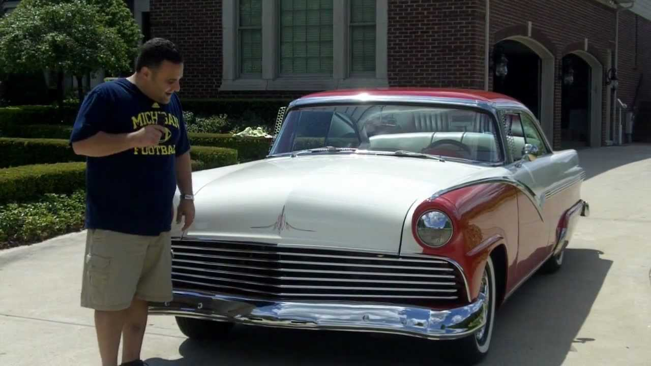 1956 Ford Fairlane Custom Classic Muscle Car for Sale in MI Vanguard Motor  Sales