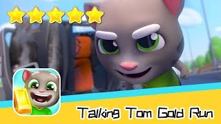 Talking Tom Gold Run Day51 Walkthrough New Map Recommend index five stars