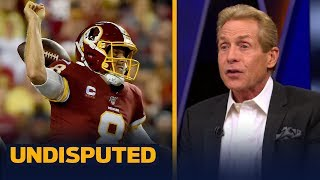 Case Keenum is better than Kirk Cousins and 'always has been' — Skip Bayless | NFL | UNDISPUTED