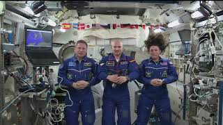 Expedition 57 ISS 20th Anniversary Event November 20, 2018