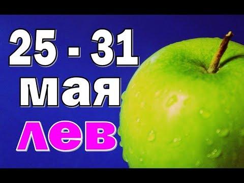 ЛЕВ  🌺  неделя с 25 по 31 мая. Таро прогноз гороскоп