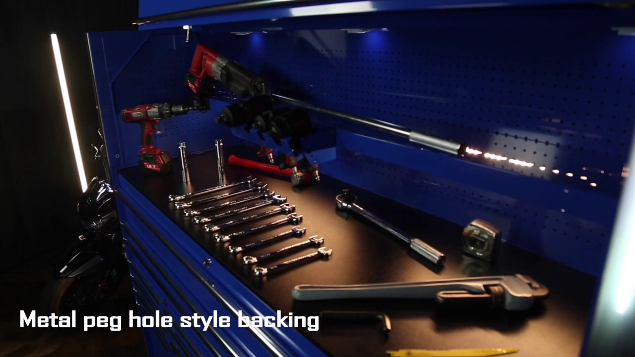 CRX 72 ROLLING TOOL BOX AND 72 TOP HUTCH CRX SERIES TOOLBOXES