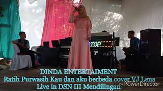 Download DINDA ENTERTAIMENT - Ratih Purwasih_ Kau dan aku berbeda Cover VJ Lena Manual KN 7000