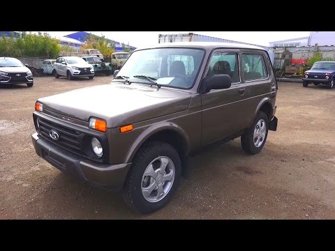 2016 Lada Niva Urban 4×4. Start Up, Engine, and In Depth Tour.