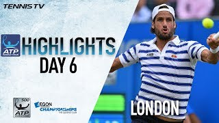 Lopez, Cilic March Into London Queens 2017 Final