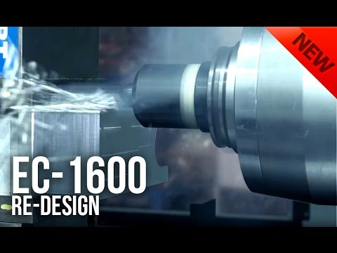 The Redesigned EC-1600 Horizontal Machining Center from Haas Automation