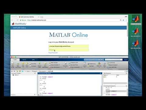Lesson 1 3: The MATLAB Desktop - YouTube