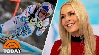 Olympian Lindsey Vonn Talks Retirement, Boyfriend And Birthday | TODAY