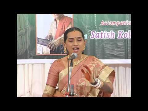 Yun Saja Chand Ghazal by Kalpana Raghavendra Chandrajith Tabla, p2
