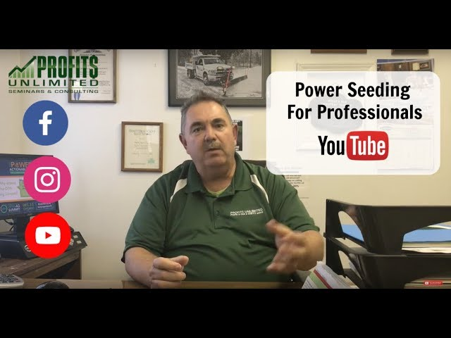 Power Seeding For Professionals