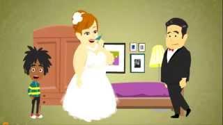Про первую брачную ночь мультфильм анекдот в стихах. Смотрите все новинка 2014!