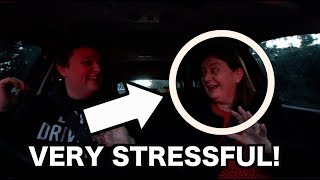 DRIVING AUTOMATIC WITH MY PARENTS (STRESSFUL)