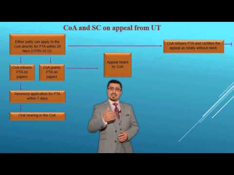 Immigration Appeals in the Court of Appeal and in the Supreme Court.  (Urdu Version)