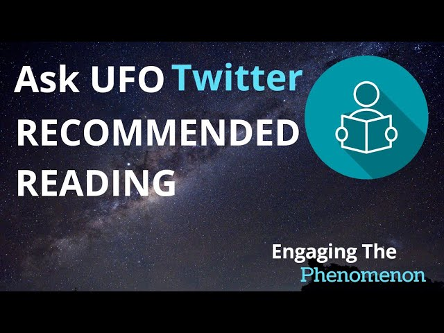 Ask UFO Twitter: Recommended Reading