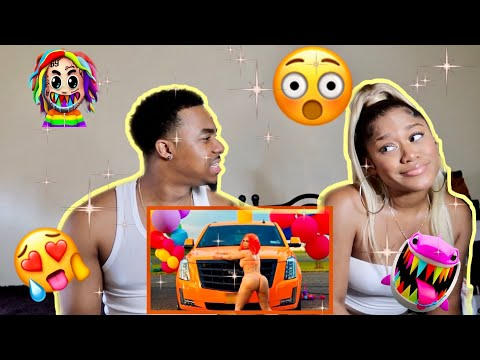 6IX9INE - TUTU (Official Music Video) (REACTION VIDEO)