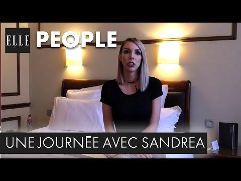 Une journée avec Sandrea, en vidéo, et rien que pour Elle.fr | ELLE People