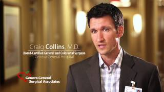 Repeat youtube video Dr. Craig Collins, General and Colorectal Surgeon