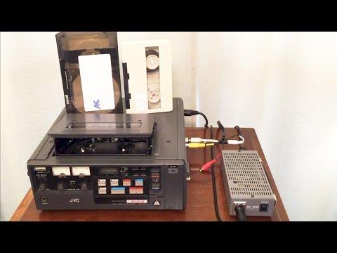 3/4 Inch U-Matic Video Tape Format - History & JVC S Type