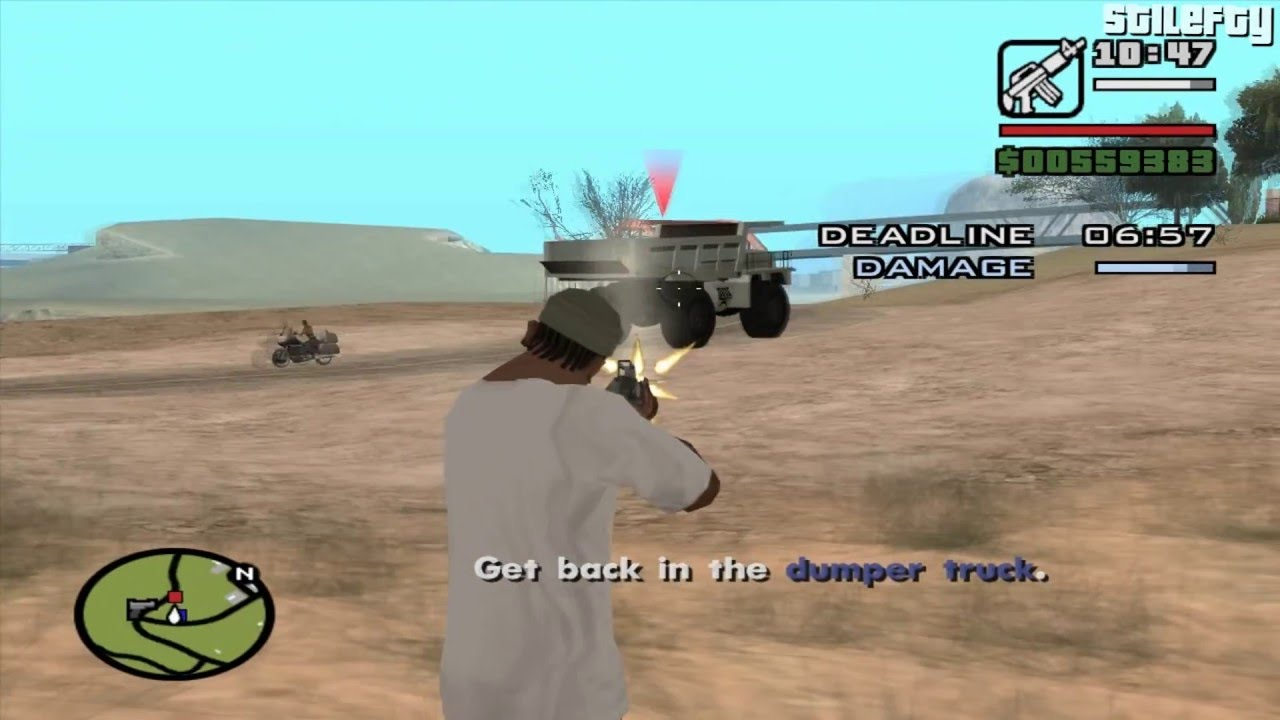 gta san andreas - hunter quarry mission  3