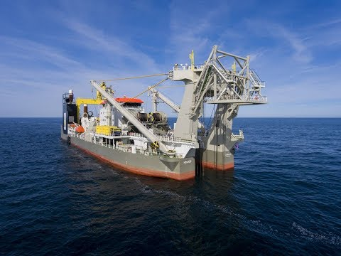 Boskalis cutter suction dredger Helios