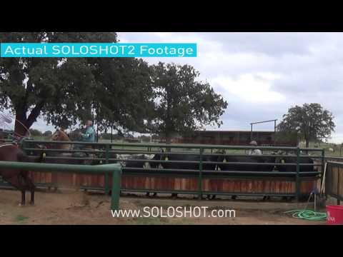 SoloShot 2 Video Camera Bundle with 8-Time World Champion Team Roper Rich Skelton
