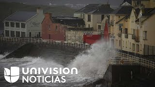 Video: Europa también sufre de la intensa temporada de huracanes: Ophelia llega a Irlanda