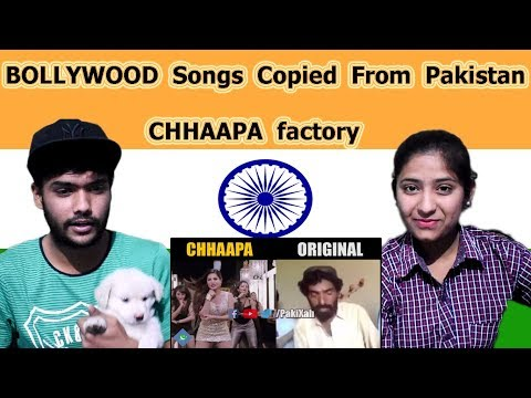 Indian reaction on Bollywood Songs Copied From Pakistan | Chapa Factory Part 1 | Swaggy d