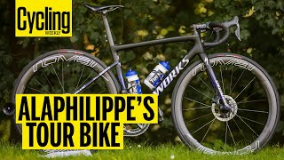 Gambar cover Julian Alaphilippes's Specialized S-Works Tarmac | Pro Bikes of Tour de France | Cycling Weekly