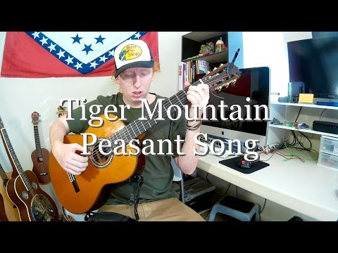 Tiger Mountain Peasant Song - Fleet Foxes (Fingerstyle Guitar Cover)