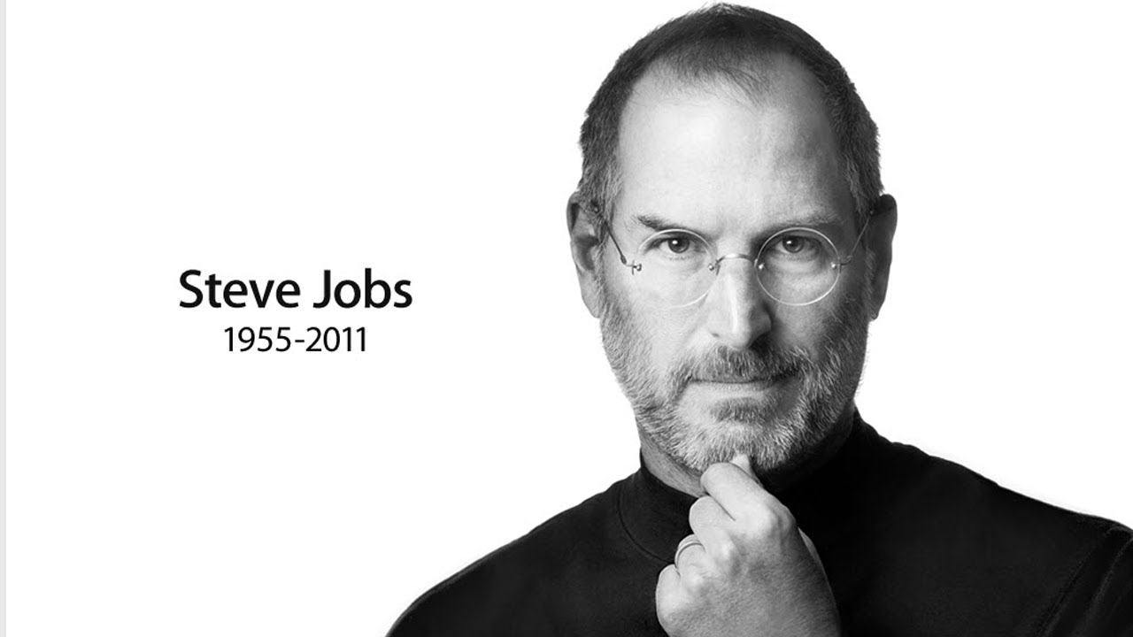 854d3025fae Steven Paul Jobs. 1955-2011 - YouTube
