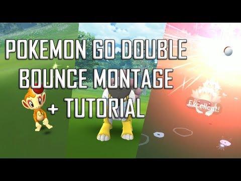 Pokemon GO Double Bounce Montage + Tutorial thumbnail