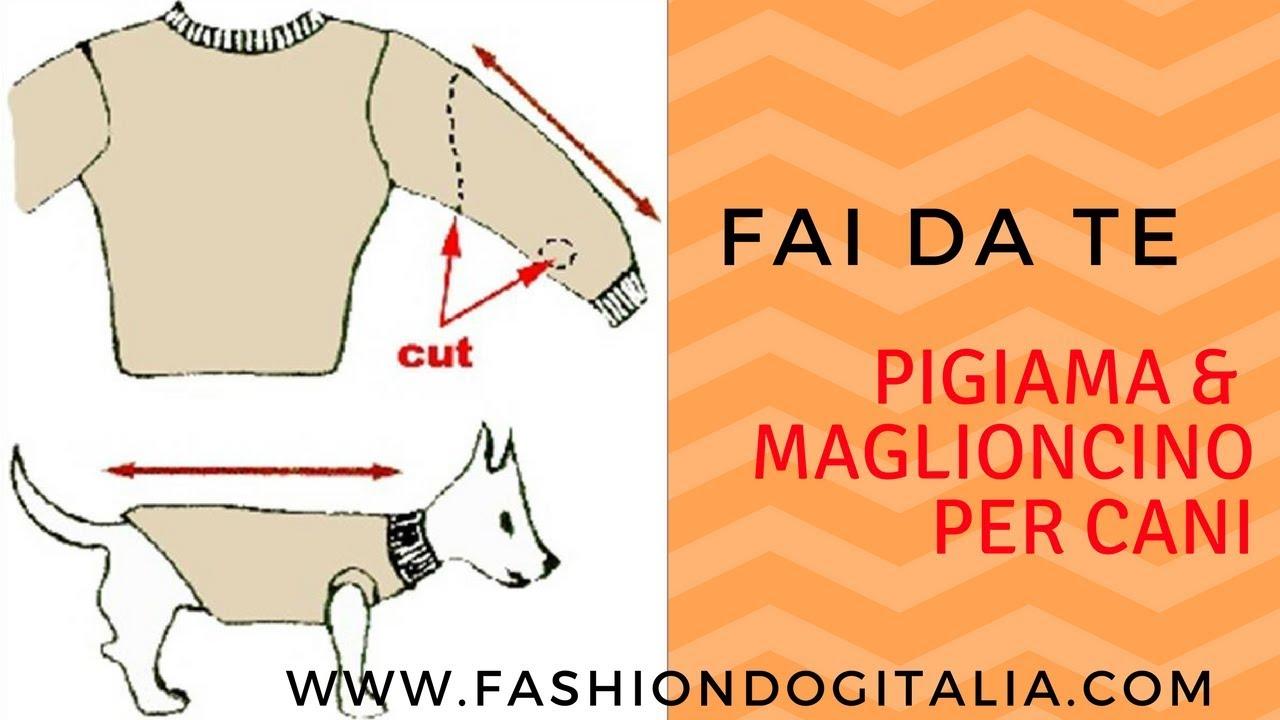Pigiama & Maglioncino per cani fai da te