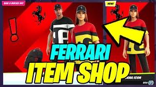 Fortnite x FERRARI Special Item Shop Refresh