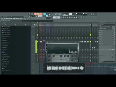 FL Studio 12 Tutorial How to make vocals sound professional ( EQ and Compression )