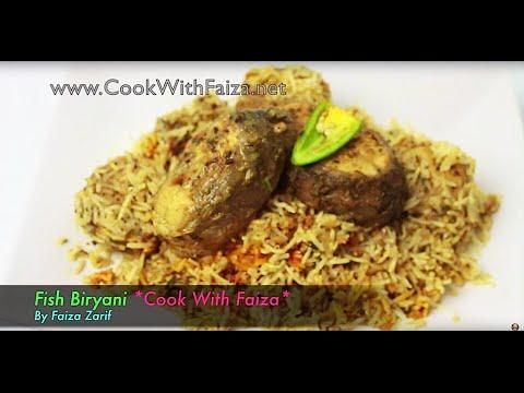 FISH BIRYANI *COOK WITH FAIZA*