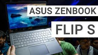 ASUS ZenBook Flip S: Hands On & Quick Review