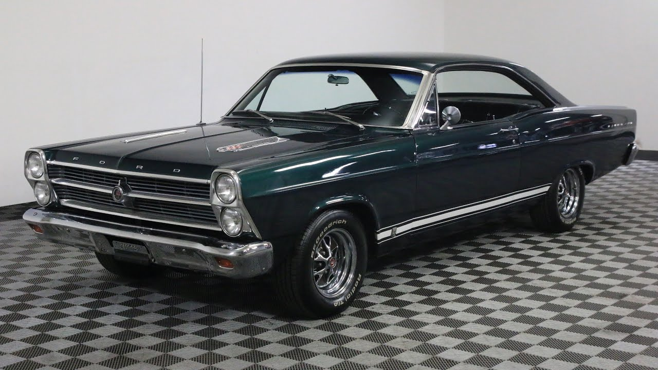 1966 ford fairlane green